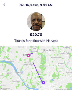 Harvest the Lyft Driver
